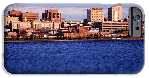 New England Coast iPhone 6s Case - Harbor And Skyline by David McLain