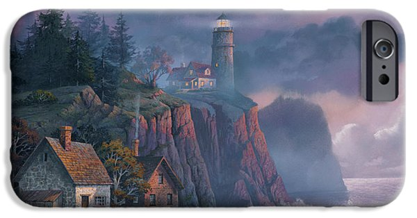 iPhone 6s Case - Harbor Light Hideaway by Michael Humphries