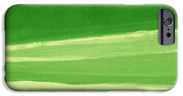 Harmony In Green IPhone 6s Case by Linda Woods