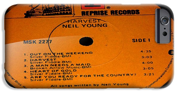 Harvest - Neil Young Side 1 IPhone 6s Case by Marcello Cicchini
