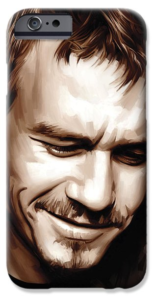 Heath Ledger Artwork IPhone 6s Case