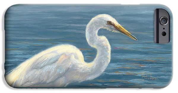 Heron iPhone 6s Case - Heron Light by Lucie Bilodeau