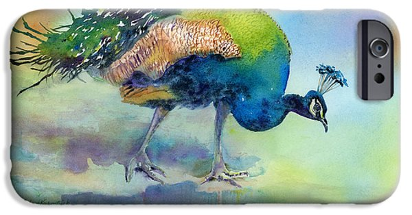 Peacock iPhone 6s Case - Hey Good Lookin by Amy Kirkpatrick