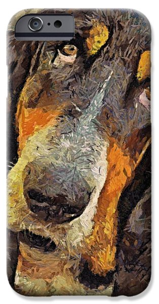 His Soft Sad Look IPhone Case by Dragica  Micki Fortuna