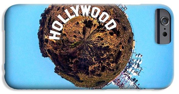 Hollywood Sign Circagraph IPhone 6s Case by Az Jackson