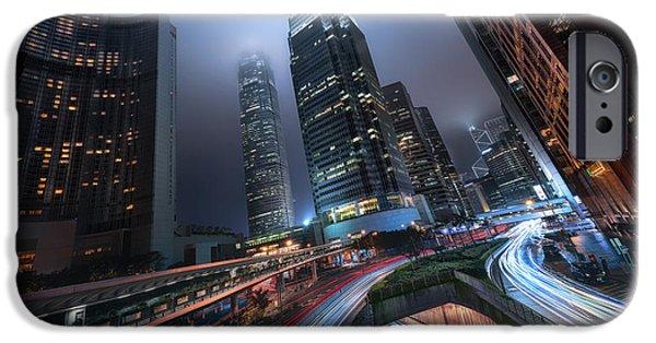 Hong Kong City Lights IPhone 6s Case
