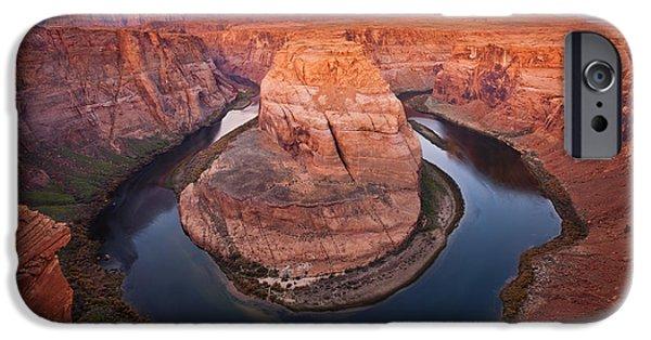 Desert iPhone 6s Case - Horseshoe Dawn by Mike  Dawson