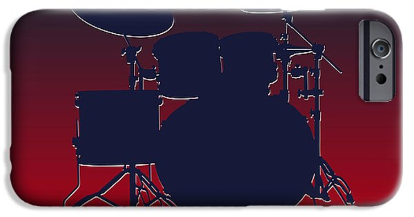 Houston Texans Drum Set IPhone 6s Case by Joe Hamilton