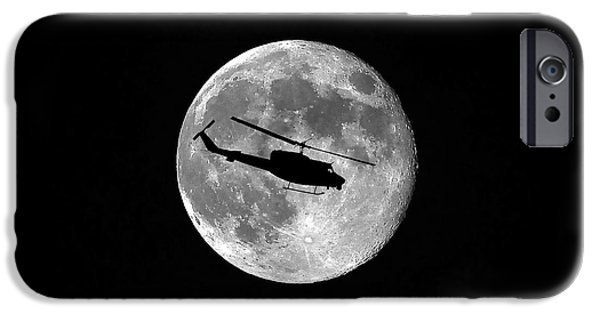 Helicopter iPhone 6s Case - Huey Moon by Al Powell Photography USA