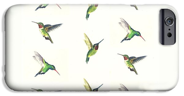 Hummingbirds Number 2 IPhone 6s Case by Michael Vigliotti
