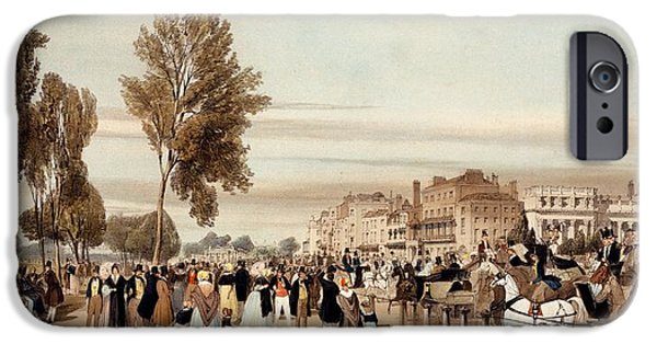 Hyde Park, Towards The Grosvenor Gate IPhone 6s Case by Thomas Shotter Boys
