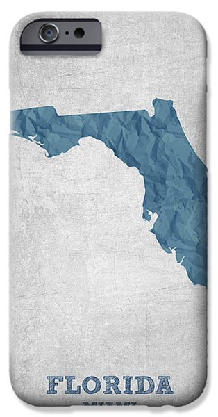 I Love Miami Florida - Blue IPhone 6s Case by Aged Pixel