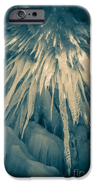 Loon iPhone 6s Case - Ice Cave by Edward Fielding