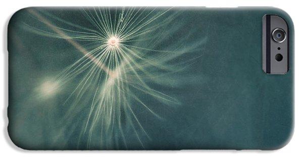 Teal iPhone 6s Case - If I Had One Wish II by Priska Wettstein