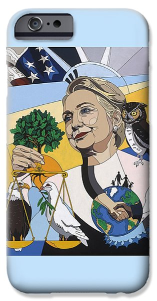 In Honor Of Hillary Clinton IPhone 6s Case by Konni Jensen