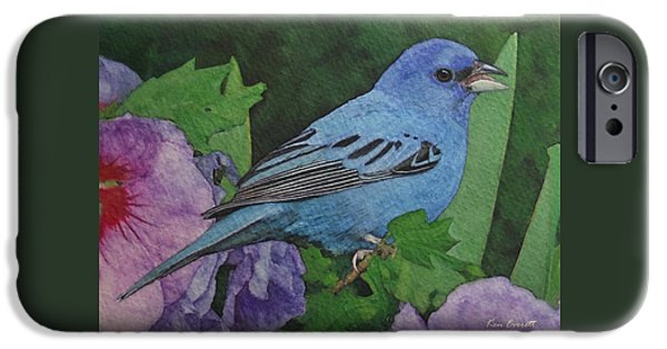 Indigo Bunting No 2 IPhone 6s Case