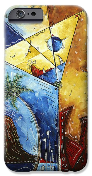 Island Martini  Original Madart Painting IPhone 6s Case by Megan Duncanson
