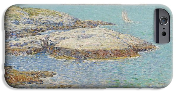 New England Coast iPhone 6s Case - Isles Of Shoals by Childe Hassam