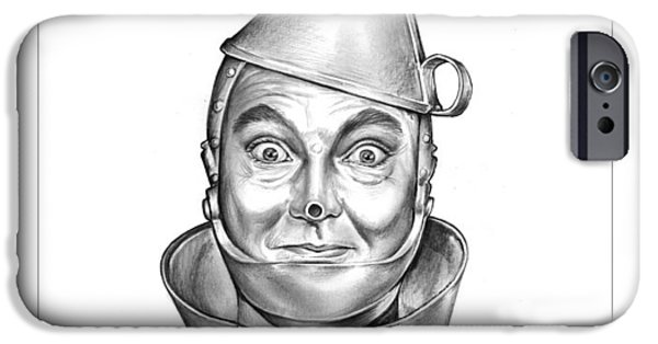 Wizard iPhone 6s Case - Jack Haley As The Tin Man by Greg Joens