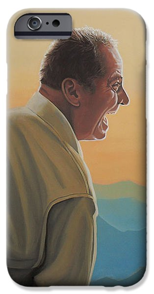 Knight iPhone 6s Case - Jack Nicholson And Morgan Freeman by Paul Meijering