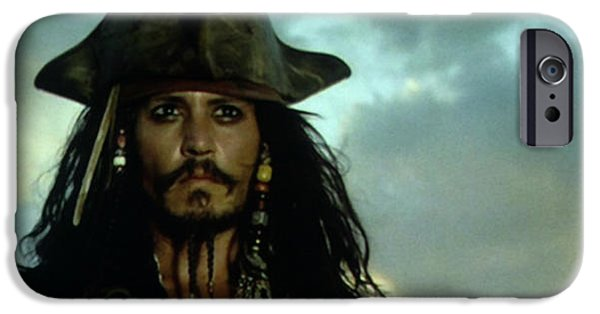 Jack Sparrow IPhone 6s Case by Jack Hood