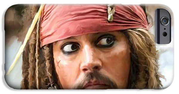 Jack Sparrow IPhone 6s Case by Paul Tagliamonte