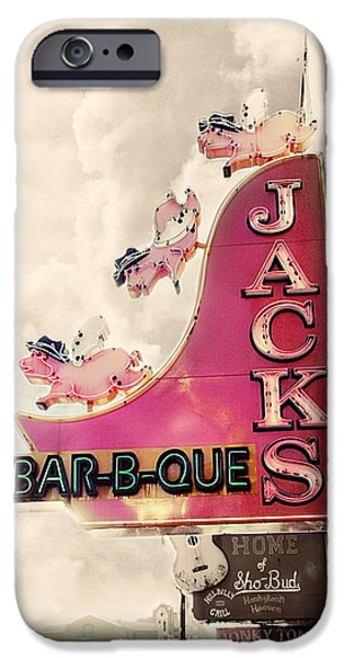 Jacks Bbq IPhone 6s Case by Amy Tyler