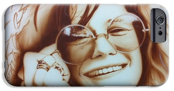 Rock And Roll iPhone 6s Case - Janis by Christian Chapman Art