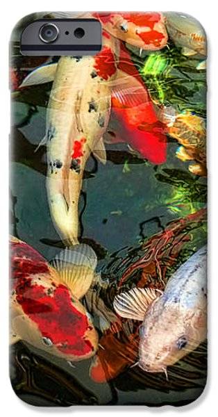 Japanese Koi Fish Pond IPhone 6s Case
