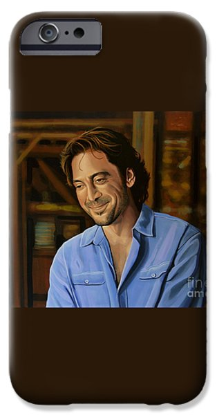 Barcelona iPhone 6s Case - Javier Bardem Painting by Paul Meijering