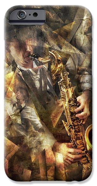 Saxophone iPhone 6s Case - Jazz by Christophe Kiciak