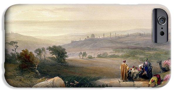 Jerusalem, April 1839 IPhone 6s Case by David Roberts