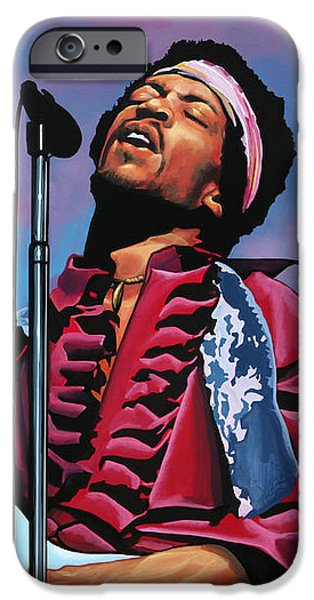 Knight iPhone 6s Case - Jimi Hendrix 2 by Paul Meijering