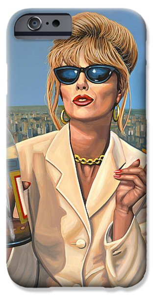 Joanna Lumley As Patsy Stone IPhone 6s Case