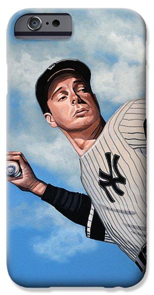 Yankee Stadium iPhone 6s Case - Joe Dimaggio by Paul Meijering
