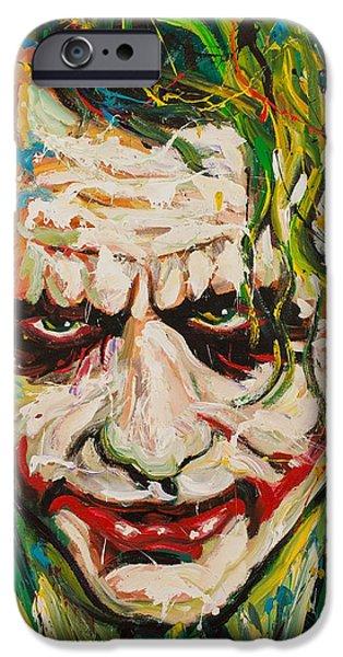 Heath Ledger iPhone 6s Case - Joker by Michael Wardle
