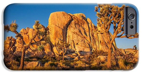 Desert iPhone 6s Case - Joshua Tree Sunset Glow by Peter Tellone