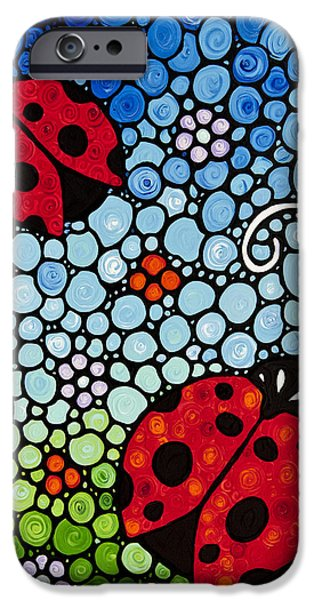 Joyous Ladies Ladybugs IPhone 6s Case by Sharon Cummings