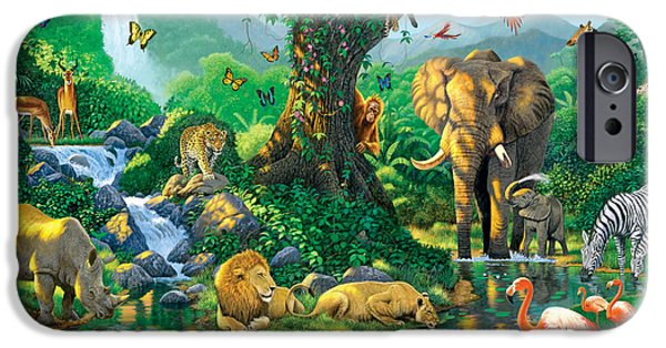 Jungle Harmony IPhone 6s Case