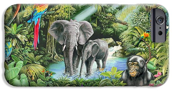 Jungle IPhone 6s Case by Mark Gregory
