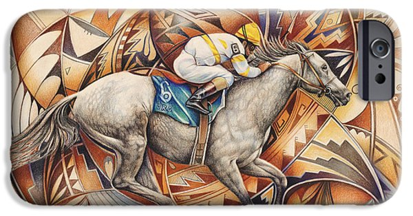 Color Pencil iPhone 6s Case - Kaleidoscope Rider by Ricardo Chavez-Mendez