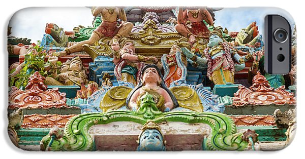 Kapaleeswarar Hindu Temple, Chennai IPhone Case by Peter Adams