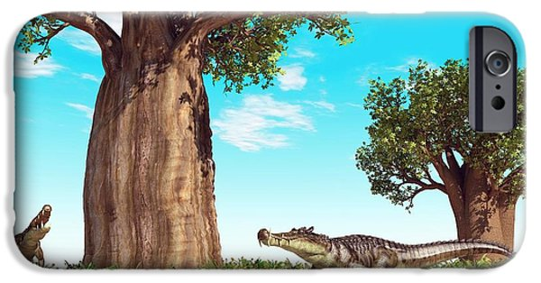 Kaprosuchus Prehistoric Crocodiles IPhone 6s Case