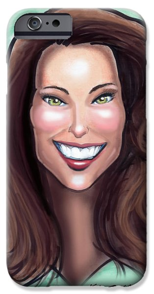 Kate Middleton IPhone Case by Kevin Middleton