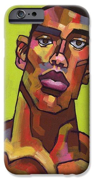 Portraits iPhone 6s Case - Killer Joe by Douglas Simonson