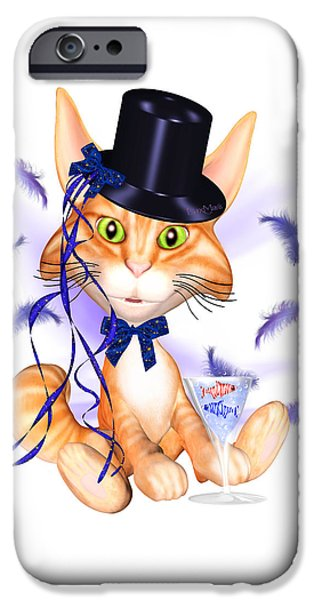 Kitticat Party Design IPhone 6s Case by Renate Janssen