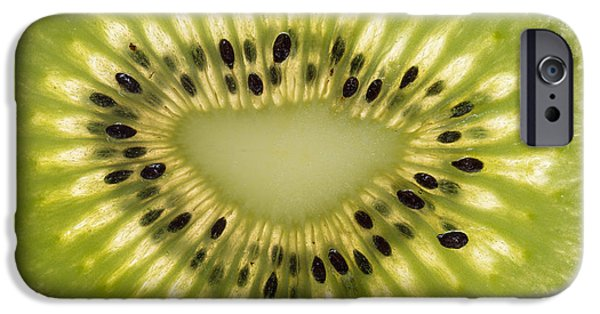 Kiwi iPhone 6s Case - Kiwi Detail by Steve Gadomski
