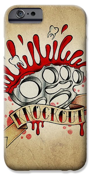 Color Pencil iPhone 6s Case - Knockout by Samuel Whitton