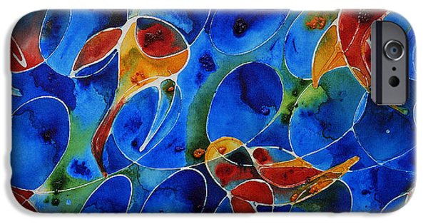 Koi Pond 2 - Liquid Fish Love Art IPhone 6s Case