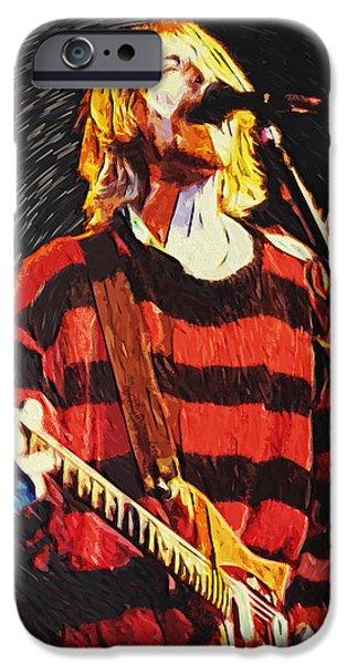 Kurt Cobain IPhone 6s Case by Taylan Apukovska